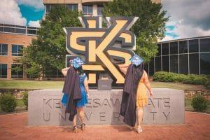KSU student grads